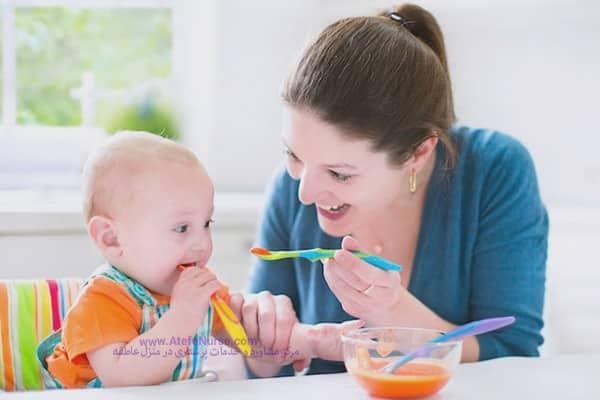 خدمات پرستاری کودک در منزل